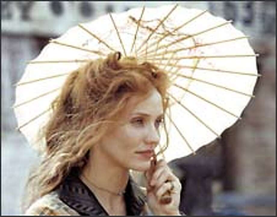 Cameron diaz gets serious in 39 gangs of new york for Cameron diaz new york