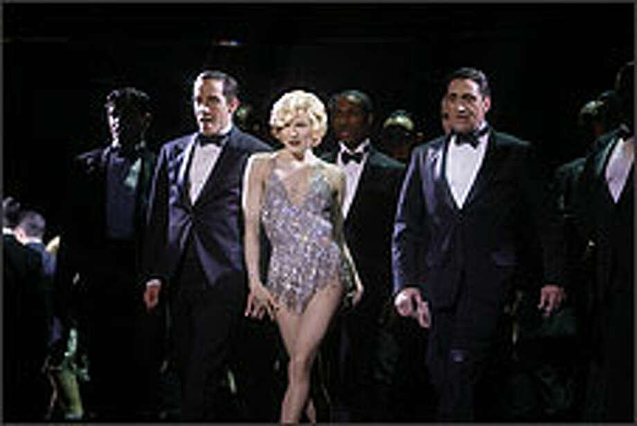 Renée Zellweger is letter perfect as the ambitious, man-killing Roxie Hart. Photo: DAVID JAMES