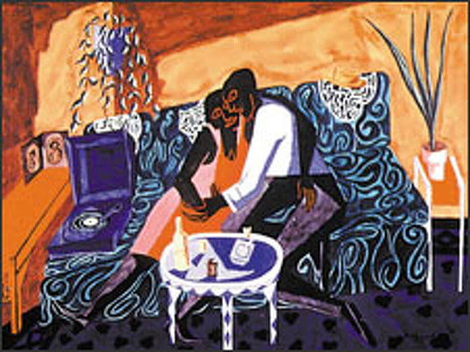 """""""The Lovers,"""" 1946"""