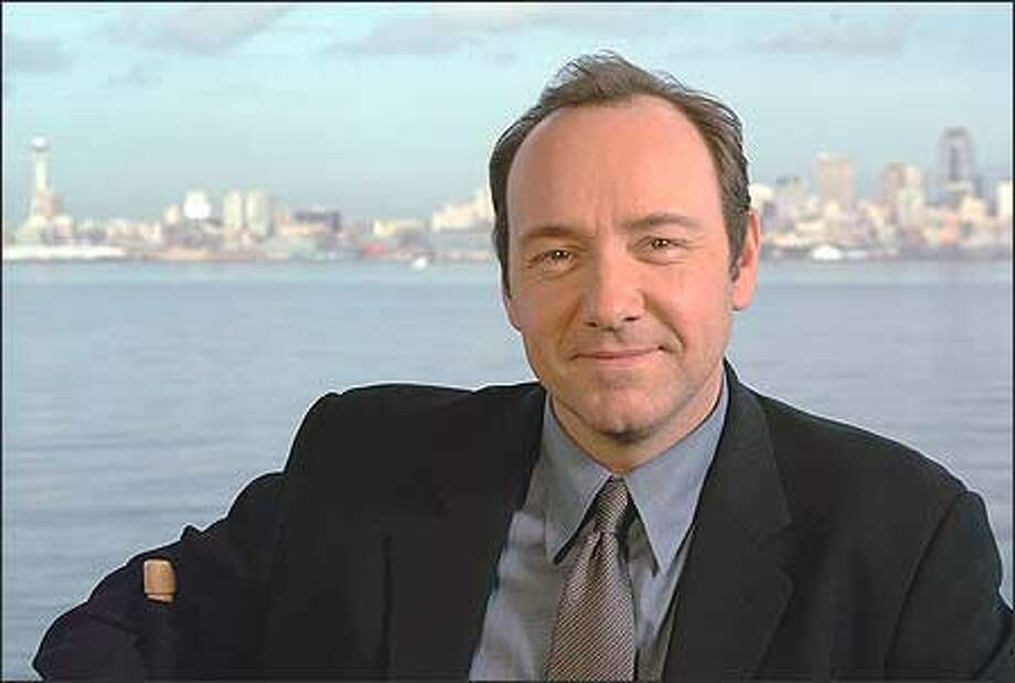 Kevin Spacey in Seattle on Jan. 21, 2003. Photo: / P-I File