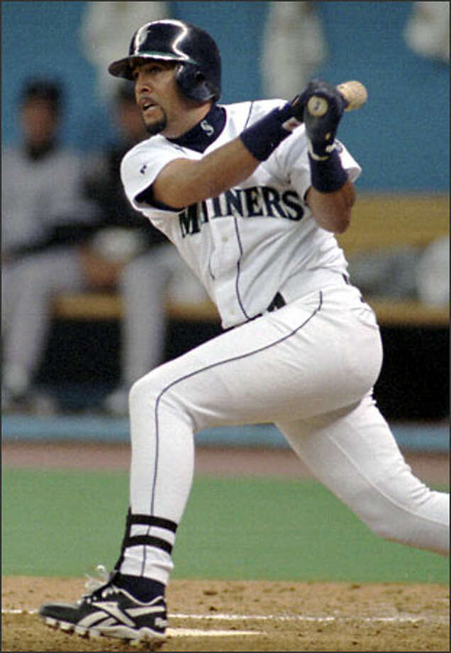 Luis SojoThen – Sojo started a total of 94 games for the M's in 1995, alternating between second base, shortstop and left field. Sojo's defense made up for his lack of offense, as he helped turn 40 double plays, produced a .976 fielding percentage, and contributed 221 assists -- second most behind fellow infielder, Joey Cora. Photo: / Associated Press