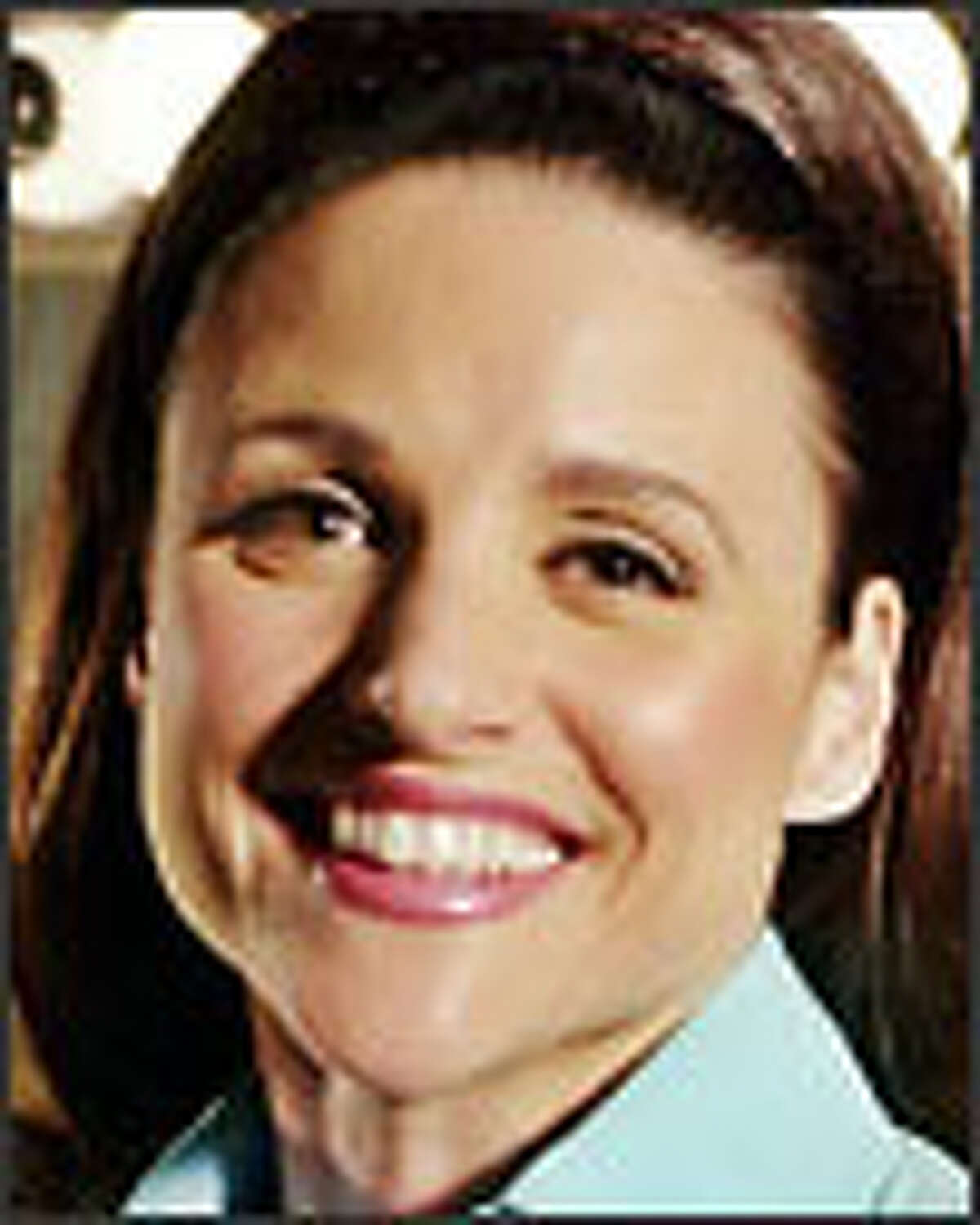 Julia Louis-Dreyfus, a good actress, struggles for her second season with a badly written script.