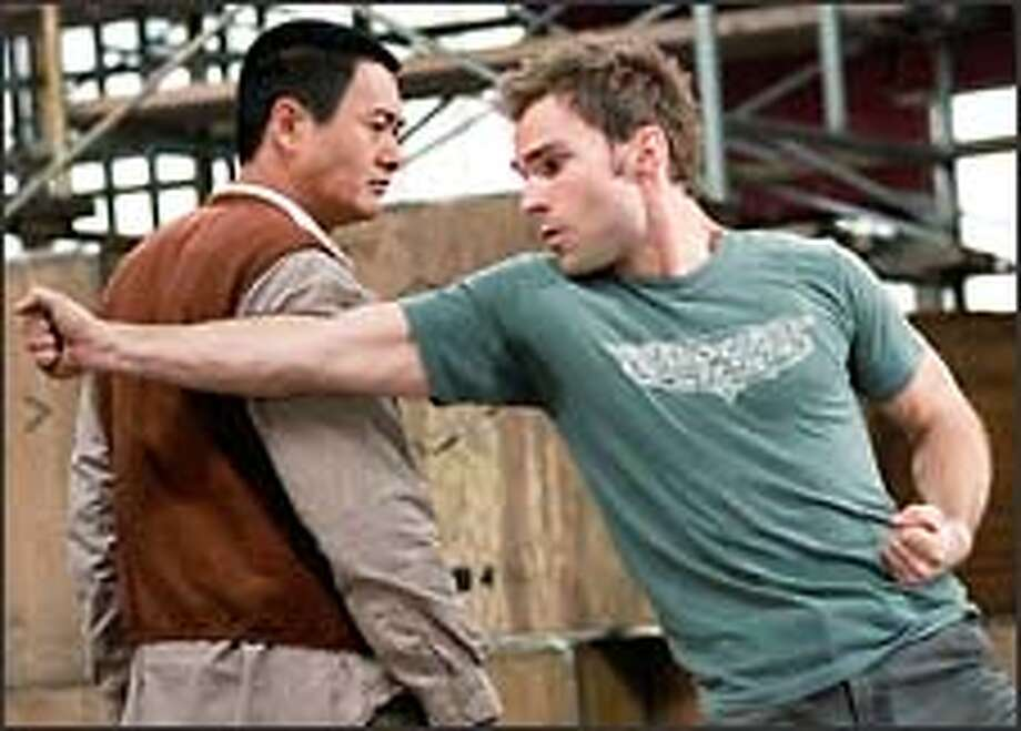 "Chow Yun-Fat and Seann William Scott do the master-and-apprentice routine in ""Bulletproof Monk."""
