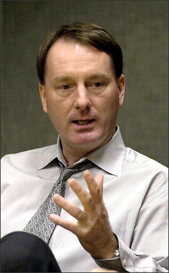Bob Whitsitt Photo: THE ASSOCIATED PRESS