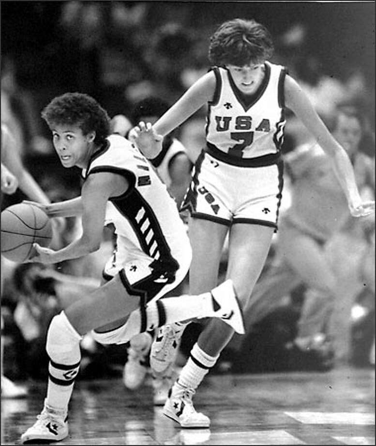 Anne Donovan has achieved remarkable things, such as winning a gold medal with Cheryl Miller at the 1984 Olympics. Photo: / Associated Press