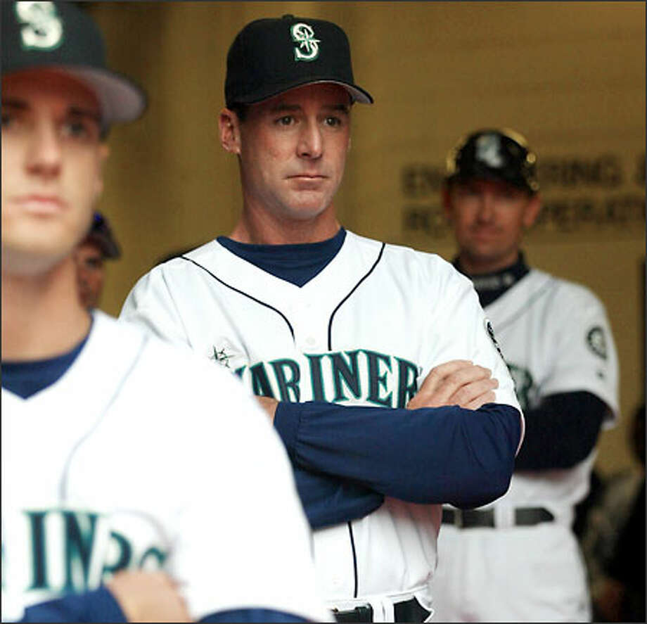 Bob Melvin has shown remarkable patience for a rookie manager. Photo: Mike Urban/Seattle Post-Intelligencer