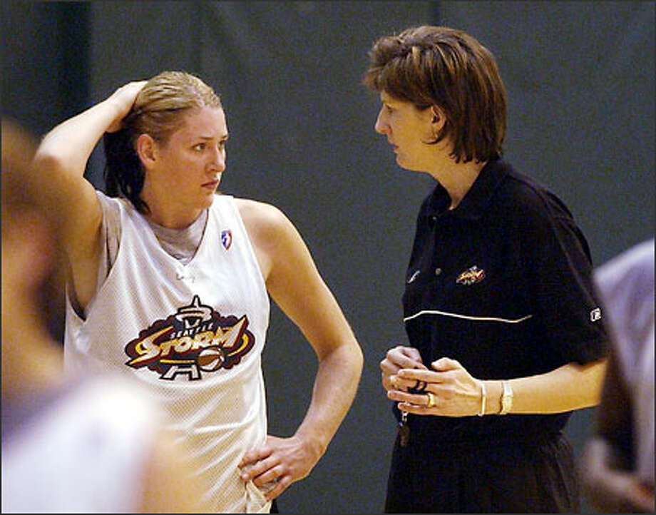"Storm coach Anne Donovan calls All-Star forward Lauren Jackson ""the best player in the WNBA."" Photo: ELAINE THOMPSON/AP"