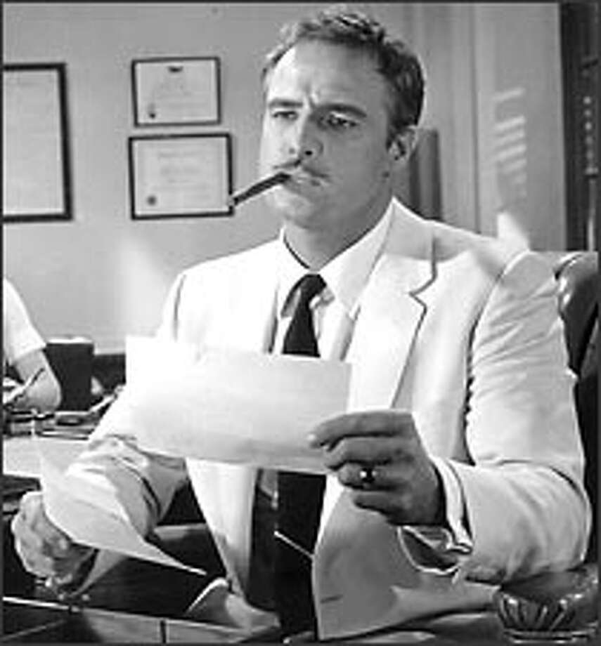 """Marlon Brando's understated performance in """"The Ugly American"""" ranks among his best. He's mesmerizing as a smart, stubborn American who gradually realizes that his arrogance has devastating consequences. Photo: Universal Pictures"""