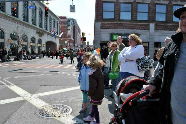 St. Patrick's Day Parade in Stamford on Saturday March 12, 2011 Photo: Lauren Stevens/Hearst Connecticut Media Group
