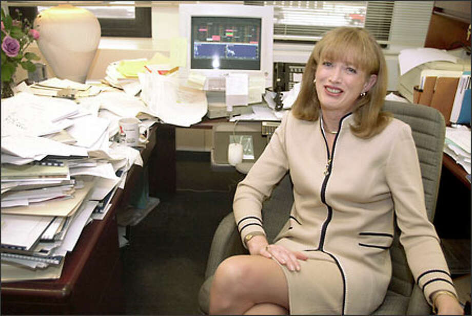"""Margaret Stumpp of Prudential Investment Management waited years to have gender-reassignment surgery. """"My business is about trust,"""" she said. Photo: / Associated Press"""