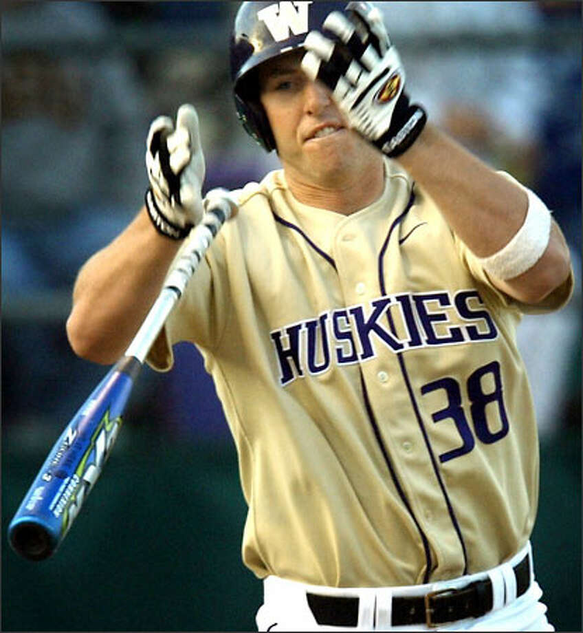 Chad Boudon will have a chance to get his cuts in Friday when the UW has a date with Minnesota in the first round of an NCAA baseball regional in Long Beach, Calif. The ultimate goal for the 64-team field is a trip to the College World Series in Omaha, Neb. Photo: Grant M. Haller/Seattle Post-Intelligencer