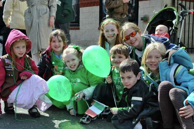 St. Patrick's Day Parade in Stamford on March 12, 2011. Photo: Lauren Stevens/Hearst Connecticut Media Group