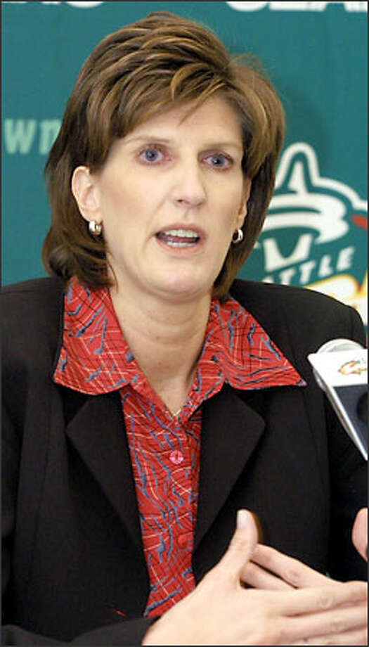 Anne Donovan is 0-2 as coach of the Storm. Photo: RALPH RADFORD/AP