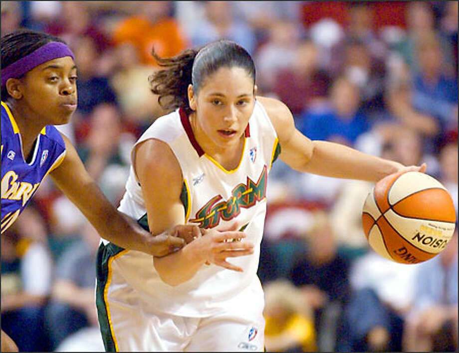 The Storm lost their home opener last night and fell to 0-3 despite a game-high 22 points from Sue Bird. Photo: / Associated Press
