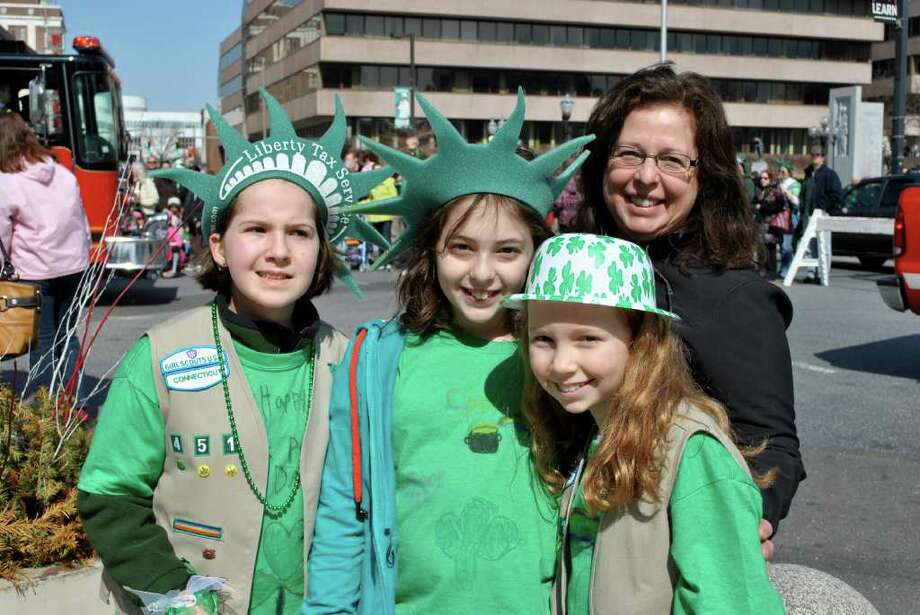 St. Patrick's Day Parade in Stamford on Saturday March 12, 2011. Photo: Lauren Stevens/Hearst Connecticut Media Group