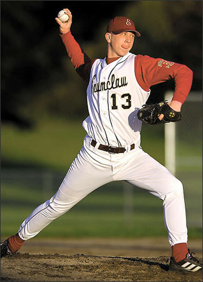 Baseball America listed Ryan Smith as the nation's No. 17 high school prospect last fall. Photo: MATT BRASHEARS/AP