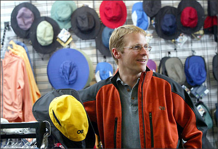 Dan Nordstrom, an accomplished climber himself, will assume the role of president and chief executive officer of Outdoor Research when the deal is complete later in the year. Photo: Karen Ducey/Seattle Post-Intelligencer
