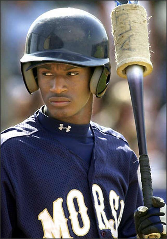 Adam Jones, 17, drew interest as a shortstop and as a pitcher. Photo: THE ASSOCIATED PRESS