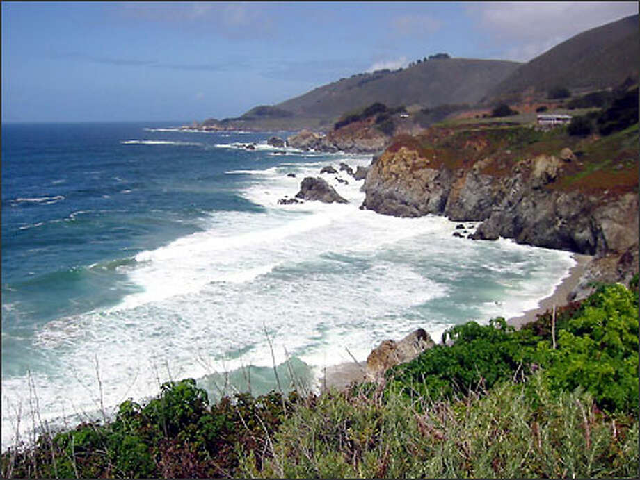 The coastline south of Carmel came to be known by the early Spanish explorers and missionaries as El Sur Grande, now the Big Sur. Photo: Thomas Brezarich/Special To The Seattle Post-Intelligencer