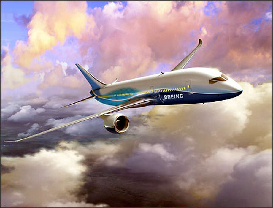New details about the supefficient 7E7 were disclosed by Boeing's Mike Bair. Photo: / The Boeing Company