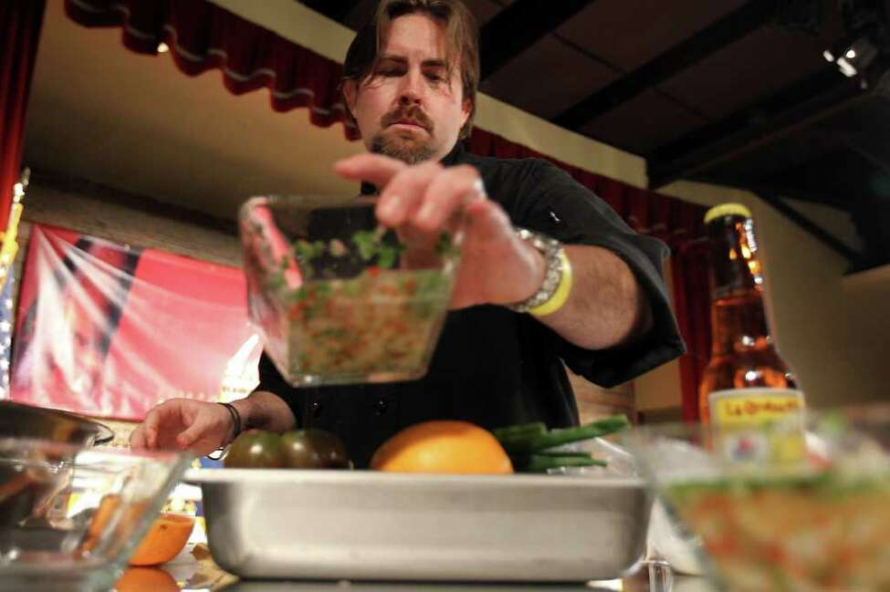 Jeff Balfour , who consistently ranks near the top at the annual Paella Challenge, opened Citrus as executive chef at Hotel Valencia in 2003. His newest project, Southerleigh Fine Food & Brewery, is scheduled to open this spring in the historic Pearl brewery.