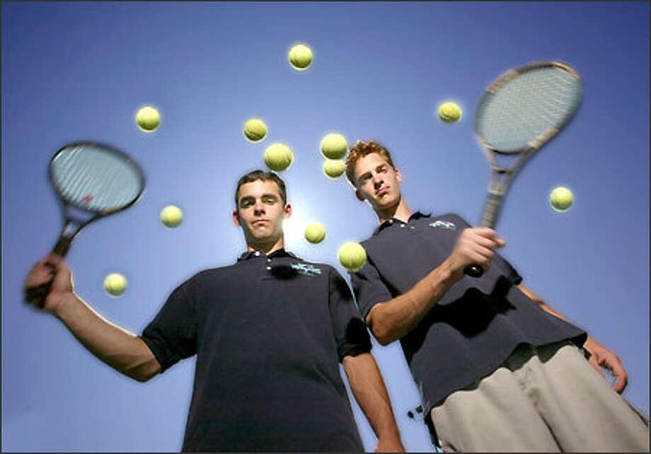 Dane and David Miller, Auburn-Riverside Photo: Scott Eklund/Seattle Post-Intelligencer