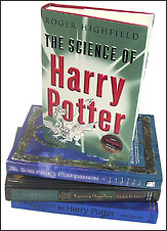 Some of the more than 60 Harry Potter tie-in books.