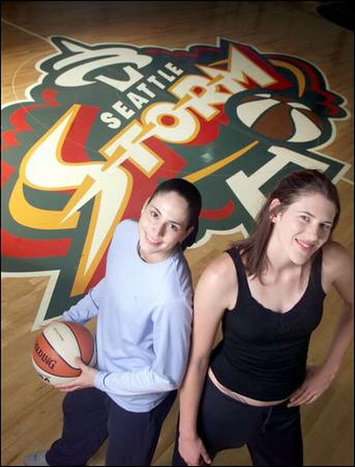 Sue Bird, left, and Lauren Jackson Photo: P-I File