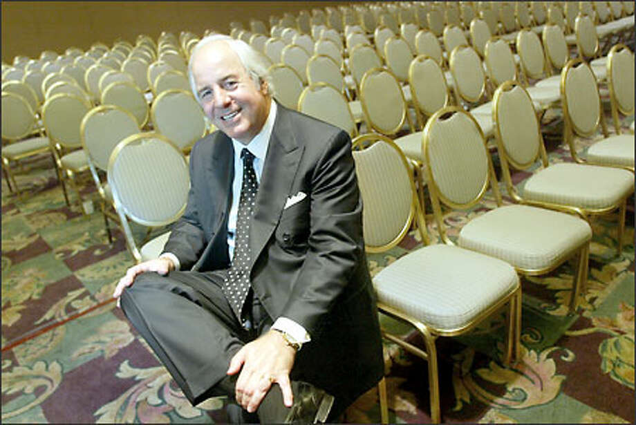 "Frank Abagnale, who inspired ""Catch Me If You Can,"" advises using a shredder and not handing out deposit slips to prevent identity theft. Photo: Karen Ducey/Seattle Post-Intelligencer"