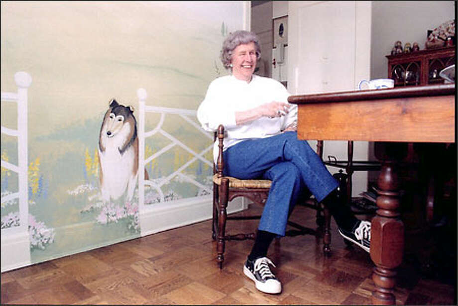 "Despite the multimillions given to good works, Patsy Collins often did not ""look like money,"" rather preferring a low profile, tennis shoes and all. Photo: Mike Urban/Seattle Post-Intelligencer"