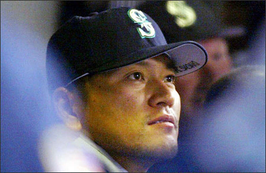 Kazuhiro Sasaki was eligible to come off the disabled list June 21, but has two cracked ribs. Photo: JOHN FROSCHAUER/AP