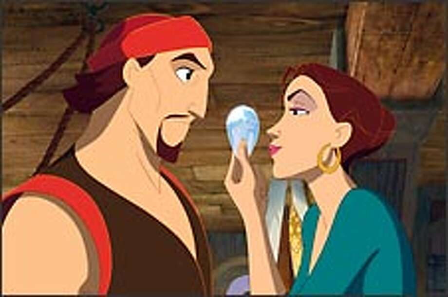 Plundering pirate Sinbad (lazily voiced by Brad Pitt) is little more than an aquatic delinquent, prodded into doing the right thing by adventurous Marina (Catherine Zeta-Jones).
