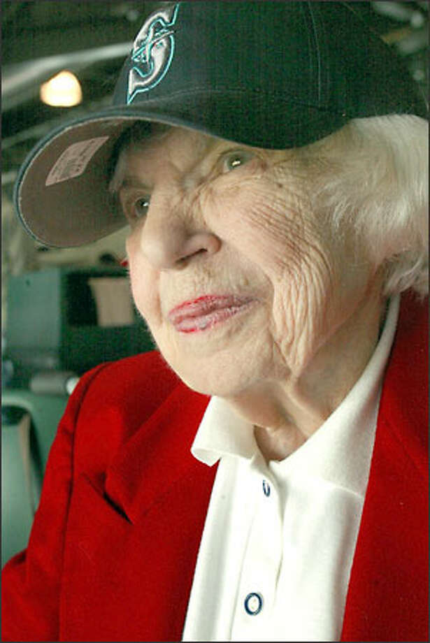 Marie Donnelly turned 92 yesterday. Photo: Grant M. Haller/Seattle Post-Intelligencer