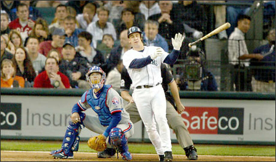 Bret Boone's 24 home runs and 76 RBIs -- both team bests -- helped the Mariners (58-35) build a four-game lead over Oakland in the AL West at the All-Star break Photo: Scott Eklund/Seattle Post-Intelligencer