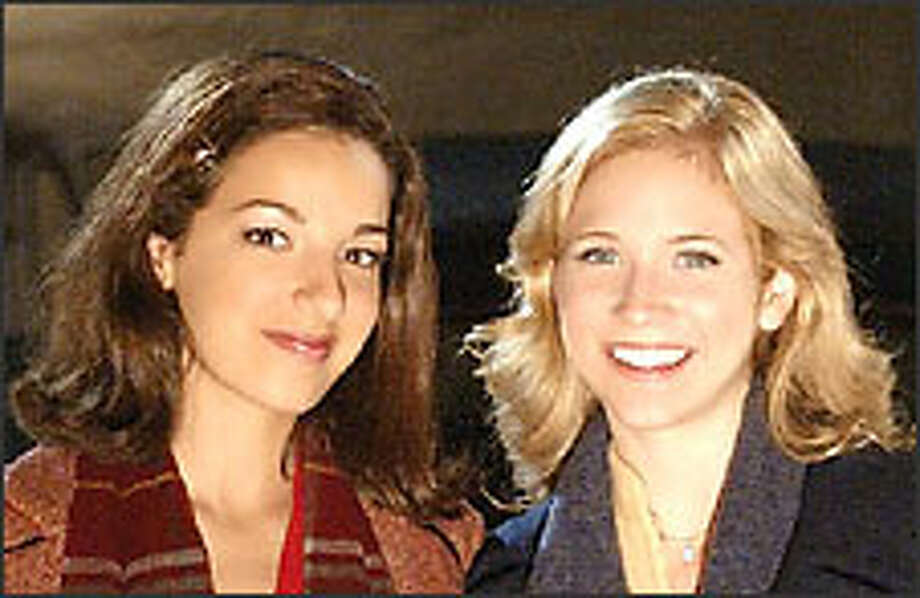 Vanessa Lengies, left, and Brittany Snow