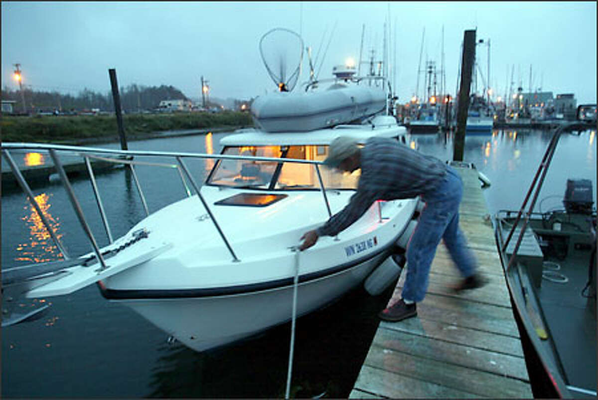 It's early morning on the Quileute Indian Reservation as skipper Randy Latos gets ready to ship out from the La Push Marina aboard the 26-foot Shelbie Tessa. After years of decline, sportfishing out of La Push is on the upswing, in part because of the tribe's focus on tourism.