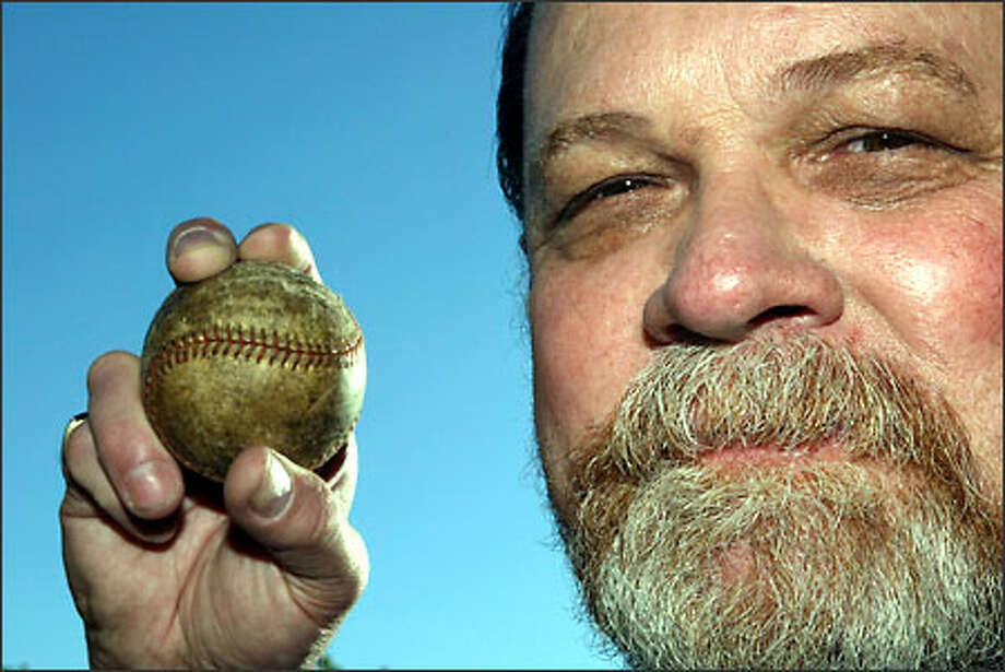 """""""Bullet"""" Bob Reynolds boasted a 100-mph fastball in a baseball career that started at Ingraham High School. Photo: David Bitton/Seattle Post-Intelligencer"""