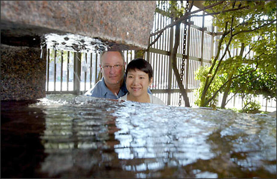 Seattle residents Scott Mantz and his girlfriend, Yen Ngo, recently completed their fourth water project in the Da Lat area of Vietnam,, helping close to 2,000 people. Photo: Scott Eklund/Seattle Post-Intelligencer