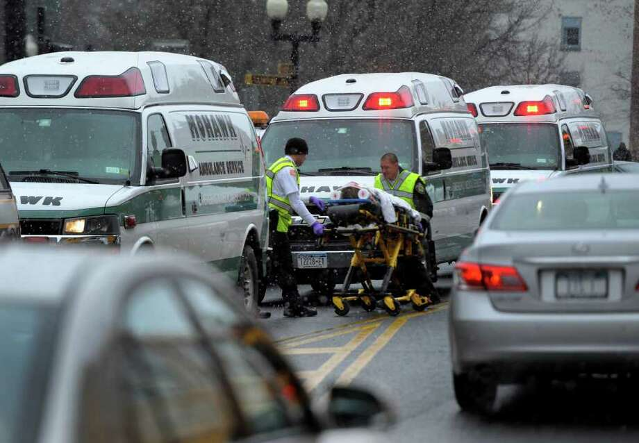 A proposed cut in Medicaid reimbursement rates has ambulance providers  in New York warning that the entire industry could be in jeopardy. (Skip Dickstein / Times Union) Photo: SKIP DICKSTEIN