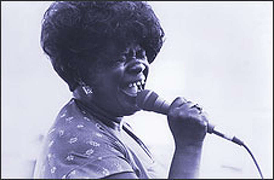 "A weeklong PBS series titled ""The Blues"" pays tribute to many of the greats including the ""Queen of the Blues,"" KoKo Taylor. Photo: STEVE KAGAN/ALLIGATOR RECORDS"
