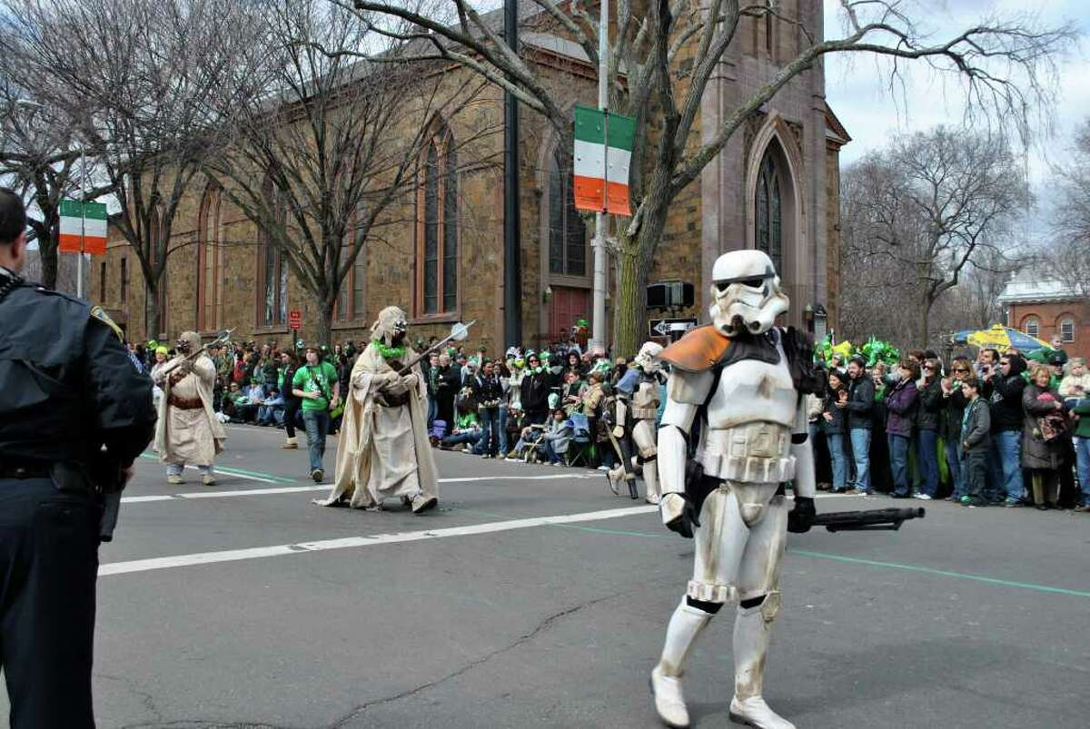 New Haven's St. Patrick's Day Parade on Sunday March 13, 2011.