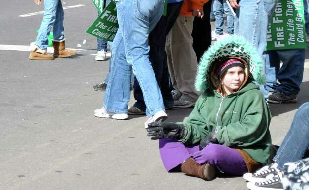 New Haven's St. Patrick's Day Parade on Sunday March 13, 2011. Photo: Lauren STevens/ Hearst Connecticut Media Group