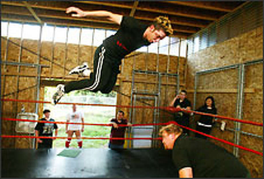 So you want to be a pro wrestler     - seattlepi com