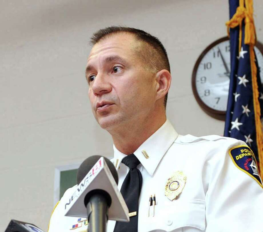 Lt. James Duda of the New Milford Police Department Photo taken, January 18, 2011. Photo: Carol Kaliff / The News-Times