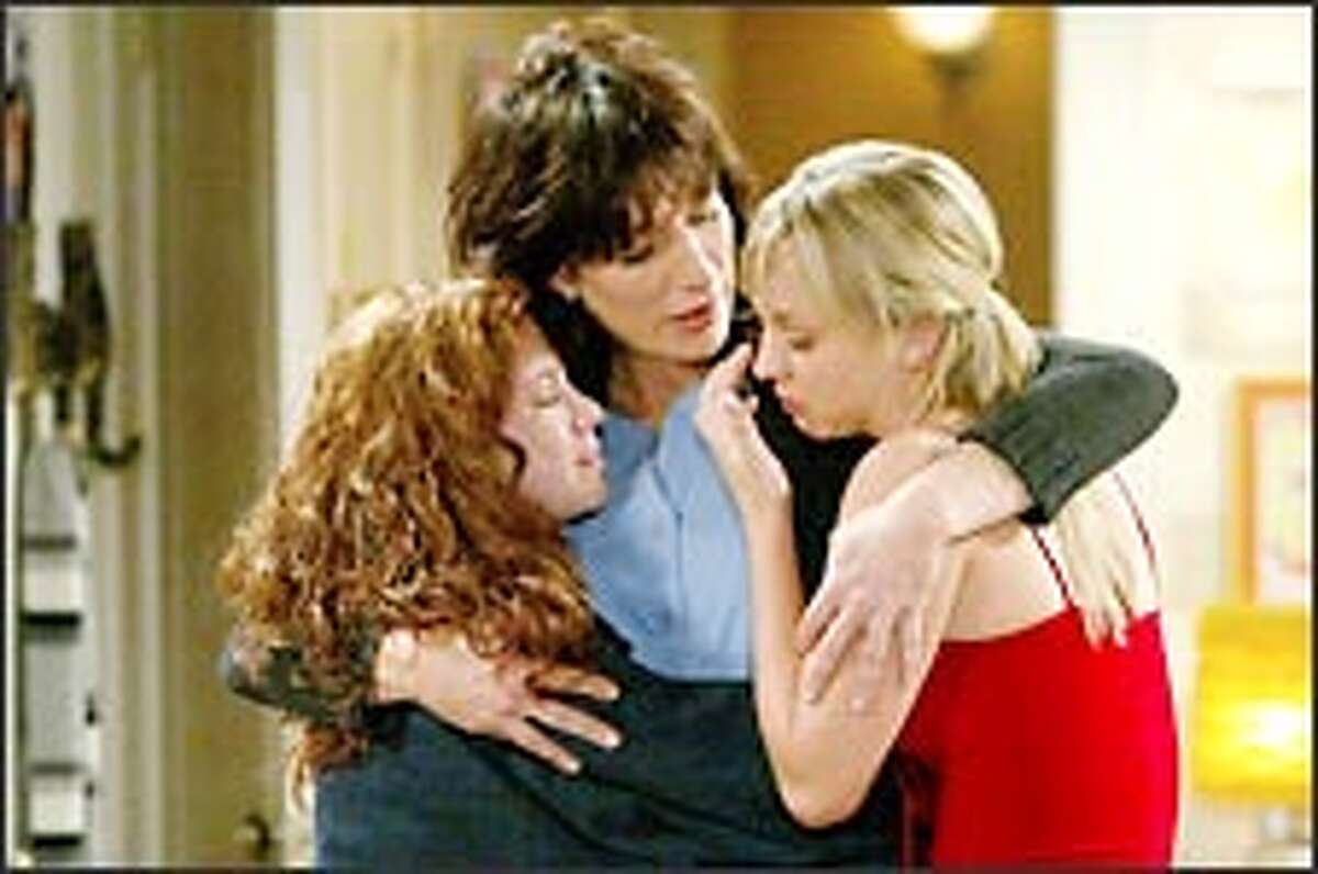 Members of John Ritter's on-screen family (Amy Davidson, Katey Segal and Kaley Cuoco) struggle to cope in the aftermath of his sudden death.