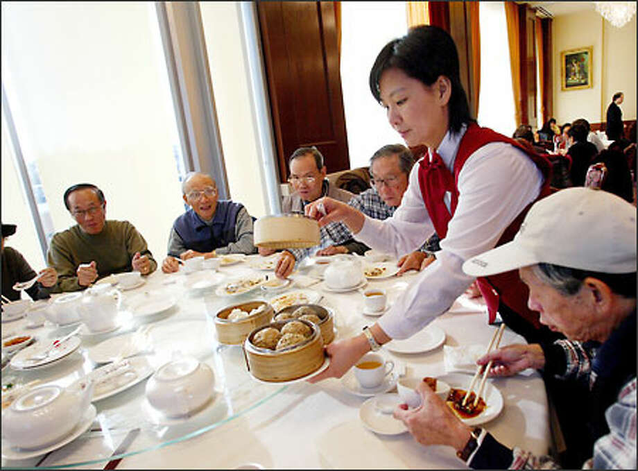 Dim sum at Shiang Garden Seafood Restaurant has a large and loyal following. It is one of several fine Chinese restaurants on No. 3 Road in Richmond, B.C. Photo: Paul Joseph Brown/Seattle Post-Intelligencer