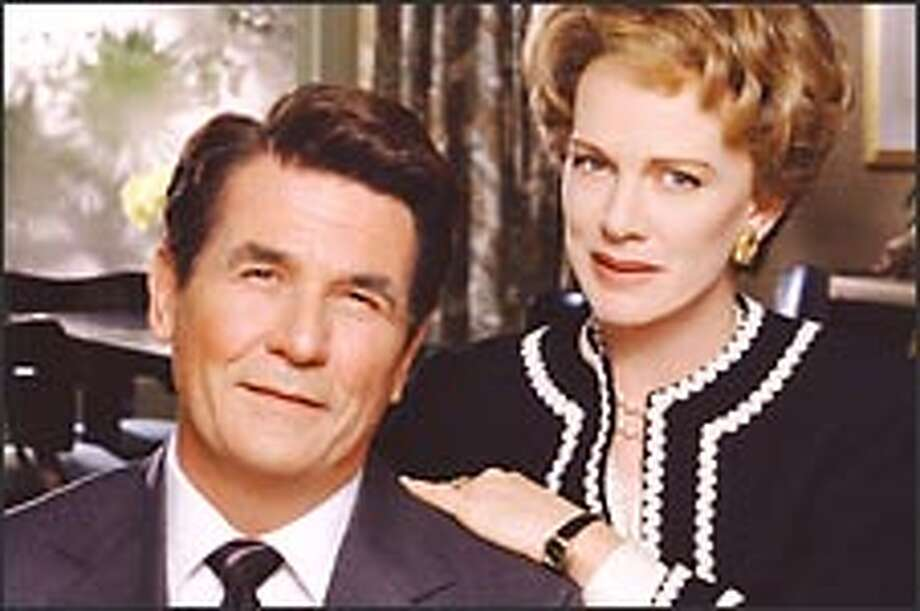 """""""The Reagans"""" traces Ronald (James Brolin) and Nancy's (Judy Davis) rise to the White House. / ©Showtime 2003"""