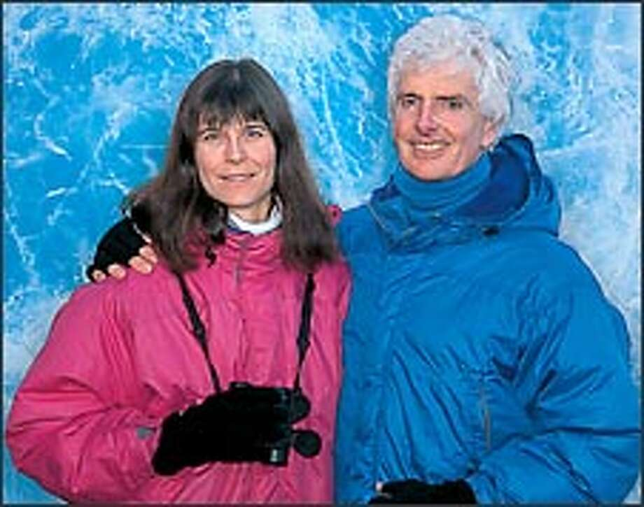 """Rosemarie and Pat Keough are limiting the printing of """"Antarctica"""" to just 950 copies."""