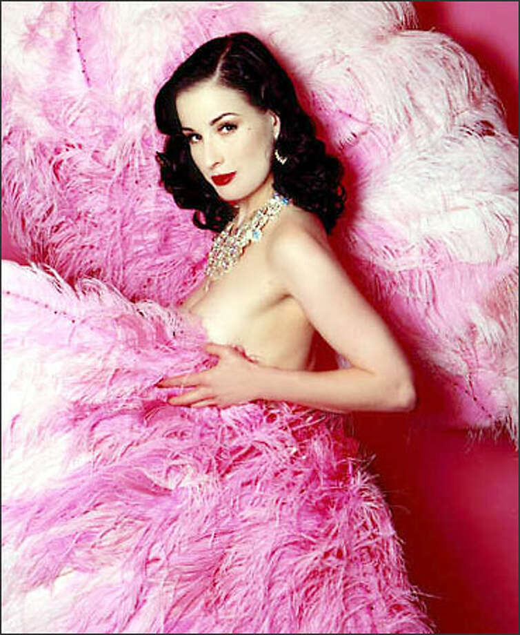 Today's burlesque dancers perform at corporate parties and events, where their show is likely to be tamer than prime-time television. Dita Von Teese, one of the top stars in burlesque, already has more business than she can handle. Photo: /