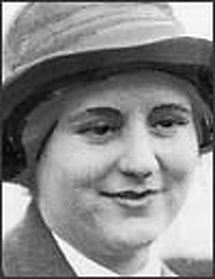 Evelyn Egtvedt, who died in 2002 at age 100, changed her will in her final years. Photo: P-I FILE/1930